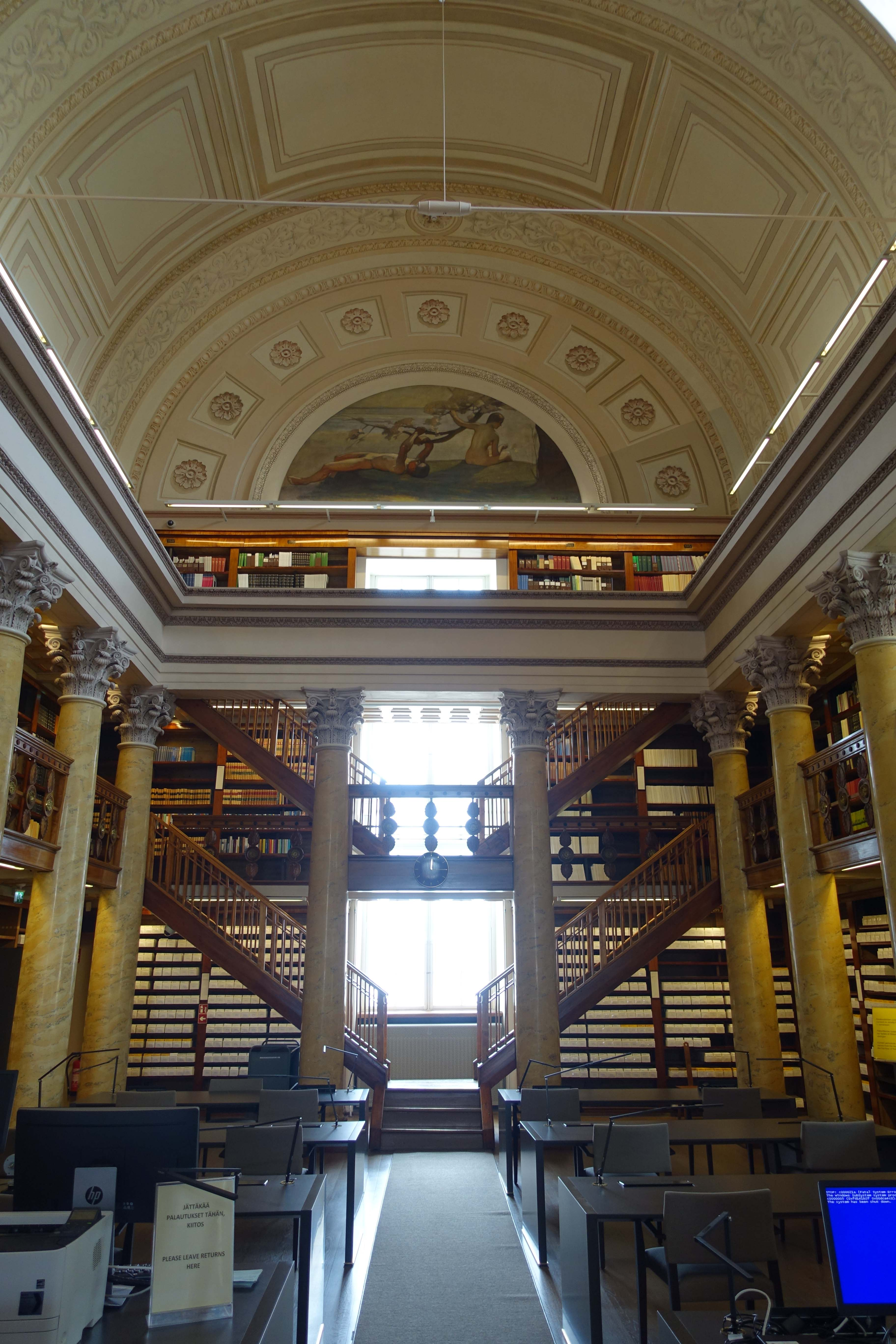 National Library of Finland 7 - Interior