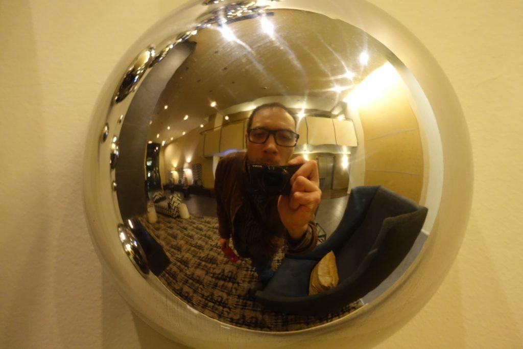 Bubble Self Portrait