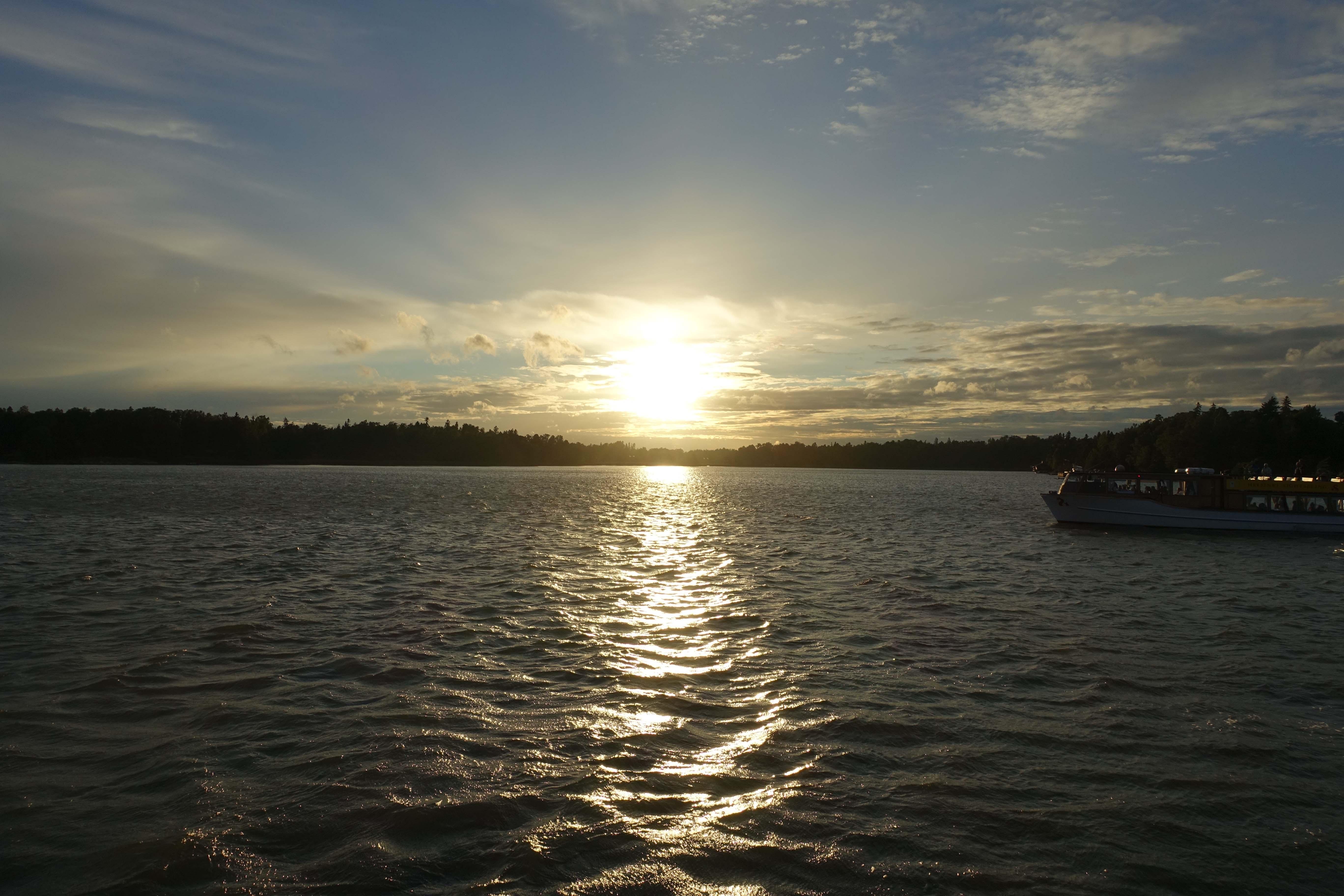 Helsinki Midsummer's Sunset